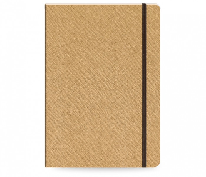 Moments Notebook Ruled Large Χρυσό