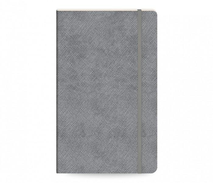 Moments Notebook Ruled Medium Ασημί